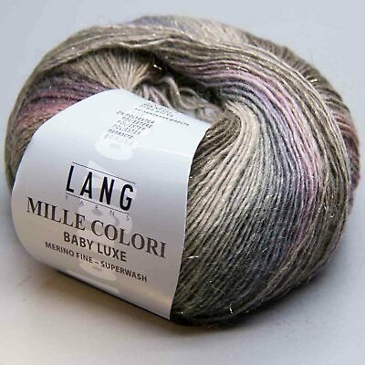 ca MILLE COLORI BABY von LANG YARNS 190 m Wolle Farbe 0057-50 g