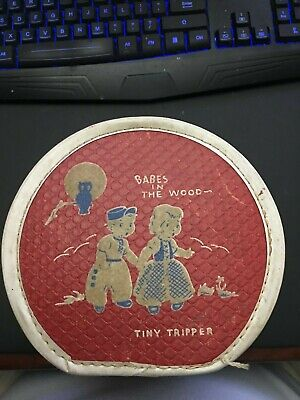 Tiny Tripper Worcester Lunch Box Babes In The Woods Rare Antique Vintage