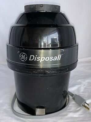 3/4 HP GE Disposall Model GFC720F Quiet Power II Sound Package Septic Safe Used