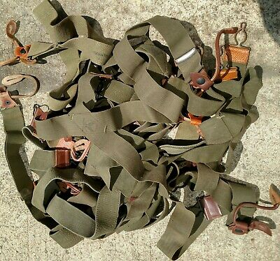 US WWII Army Air Force Suspenders