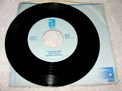"Bobby Rydell ""Forget Him / Love Go Away"" 45 RPM,7"",1960's Rock,Nice NM!, Reissue"