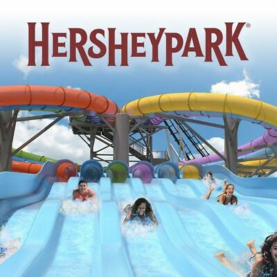 4 Hershey Park One Day Admission Tickets exp 9/29/19