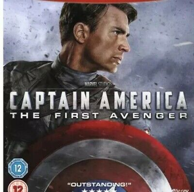 Marvel Captain America: The First Avenger (Blu-ray 1-Disc ] Nearly New Reg All