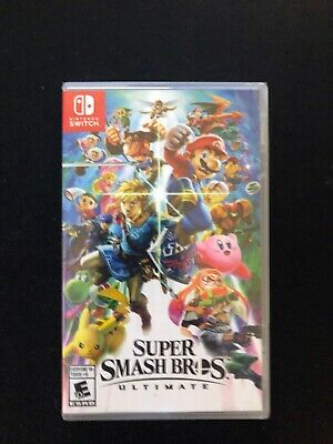 Super Smash Bros. Ultimate 2018 Nintendo Switch NEW