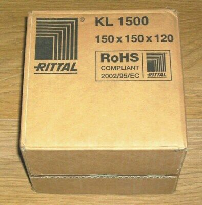 Rittal KL 1500 Terminal Box Enclosure (150mm x 150mm x 120mm)