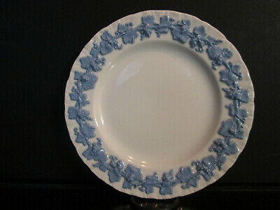 """Eight (8) Wedgwood  Queensware Lavender on Cream Shell Edge 6"""" Bread Plates"""