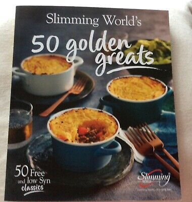 Slimming World New Book 50 Golden Greats July 2019 50 years SW Favourite Recipes