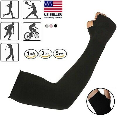 Cooling Sleeves Arm Cover UV Sun Protection Athletic Sport Basketball Golf USNEW
