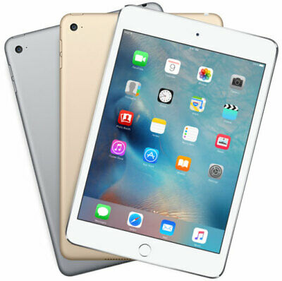 Lot of 7 Apple iPad Mini 4th Generation in a Variety of Colors and GB