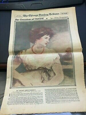 June 3 1917 Chicago TRIBUNE SUNDAY MAGAZINE Countess of Oxford