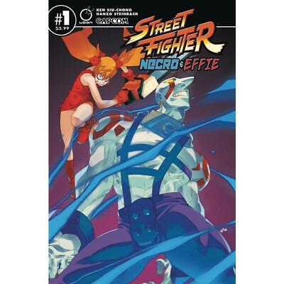 Street Fighter Necro & Effie #1 Cvr A - Comic Book - Brand New