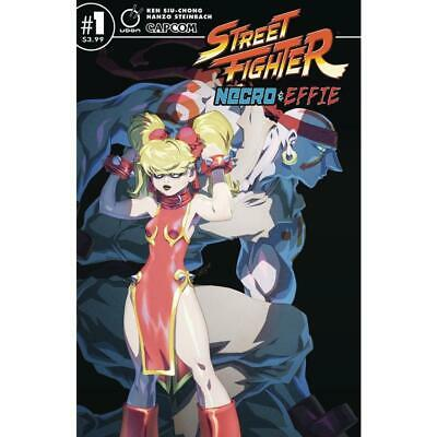 Street Fighter Necro & Effie #1 Cvr B - Comic Book - Brand New