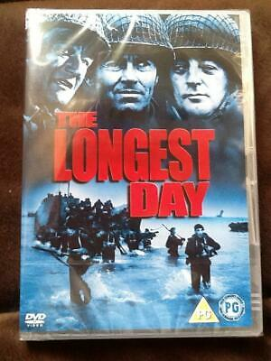The Longest Day (DVD) Starring John Wayne, Robert Mitchum - PAL 2003 New Sealed