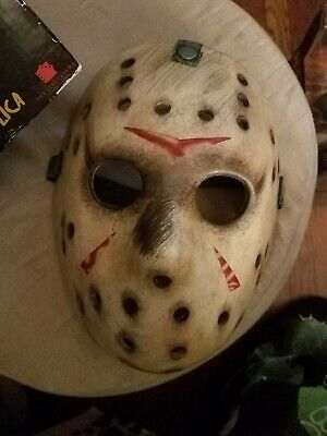 JASON VOORHEES Friday the 13th Part 3 Lifesize Prop Replica Resin Mask Neca 2018