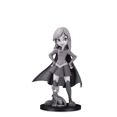 Dc Artists Alley Supergirl B&W By Zullo Pvc Figure - Brand New