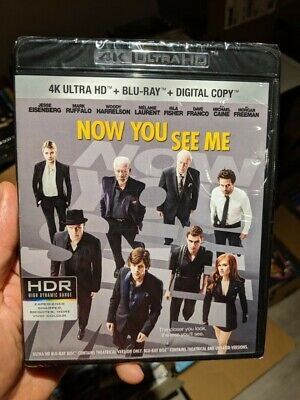 Now You See Me (Blu-ray + 4K UHD) BRAND NEW!!