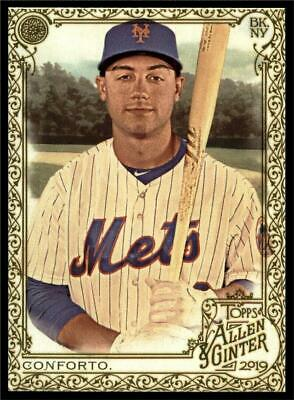 2019 Topps Allen & Ginter Silver Gold Hot Box #243 Michael Conforto