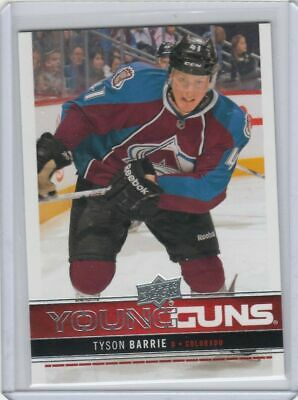2012/13 Tyson Barrie Upper Deck Young Guns Rookie  Ud Yg Rc Toronto Maple Leafs