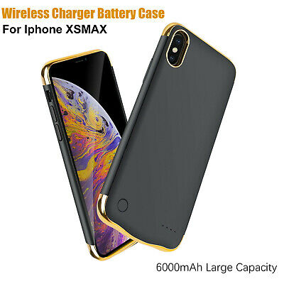 SLIM PORTABLE BATTERY Case Power Bank Charging Backup Cover iPhone