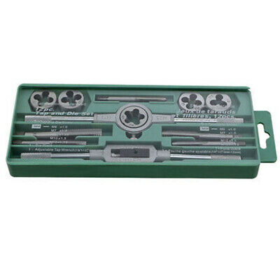 12pc/Set Metric Alloy Steel Tap Die Thread Wire Tapping Threading Tool #D