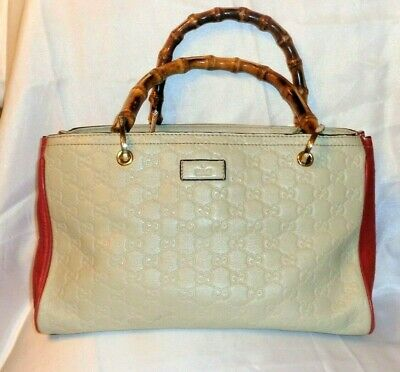 0abaf504 NEW GUCCI CURRENT Red Leather