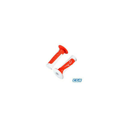 Revetement/poignee doppler grip radical blanc/rouge (pr)
