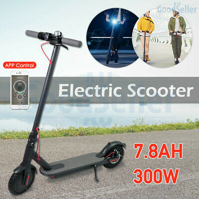 Foldable 300W Electric Scooter App Control Commuter e-Bike 7.8Ah for Adult Child