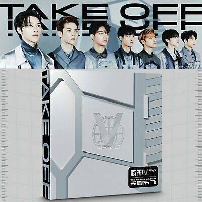 SEALED WAYV WAY V NCT FIRST MINI ALBUM TAKE OFF CD+Booklet+Extra Photo Cards Set