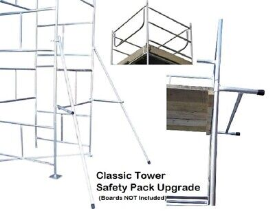 Classic DIY Scaffold Tower Safety Pack Upgrade Only - All Sizes