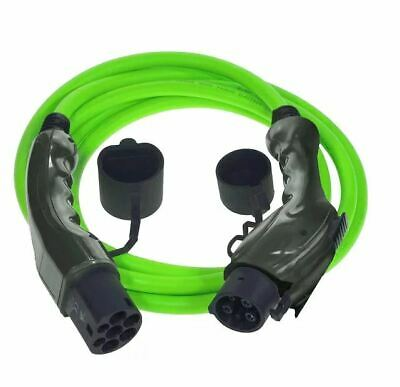 Type 1 to Type 2 Electric Car (EV) Cable | 16amp 3.6kW 5m ***5 Year Warranty***