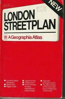 Geographia Atlas London Street Plan Softcover Book Index Road Map