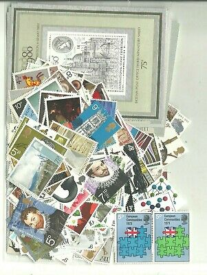 Gb Stamps For Cheap Postage Low Values Face £20 Mint Full Gum