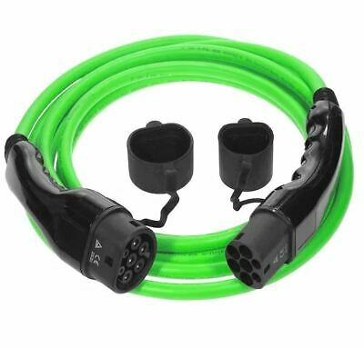 Type 2 to Type 2 Electric Car (EV) Cable | 16amp 3.6kW 5m ***5 Year Warranty***