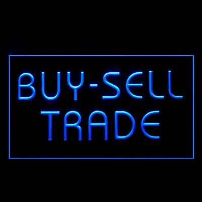 120048 Buy Sell Trade Product Revenue Benefit Money Interest  LED Light Sign