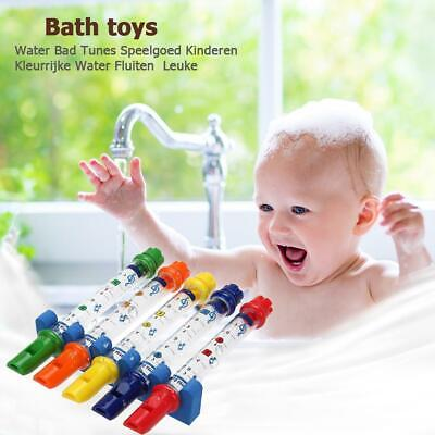 Toddler Kids Water Flutes Musical Bath time Toys Fun Bath Tub Tunes Song Sheets