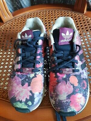 Floral Fille Adidas Multi Enfant Baskets Neuf Flux Chaussure