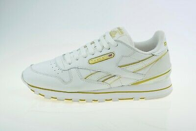 Reebok Classic Leather White 167404 Men's Trainers Size Uk 8