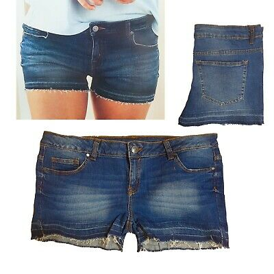 Jeans Shorts Hot Pants Shorts Stretch Jeans Jean Shorts Size 40 M