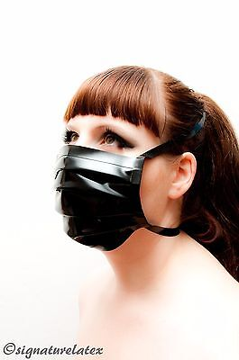 Latex/ Rubber Medical/Surgical mask in Black