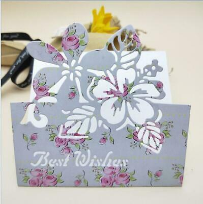Flowers Metal Cutting Dies Scrapbooking Embossing Album Craft Mold Decoration