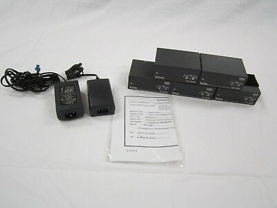 5-Pack Extron MTP R 15HD A Receivers