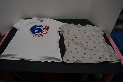 Toddler Girl's Mixed Lot Of 2 Short Sleeve Top Size 5T