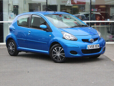 2009 59 TOYOTA AYGO 1.0 VVT-i BLUE 5dr [AC] - £20 TAX - ONE LADY OWNER from NEW!