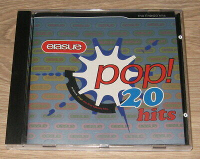 Erasure - Pop! ... The First 20 Hits (CD 1992)