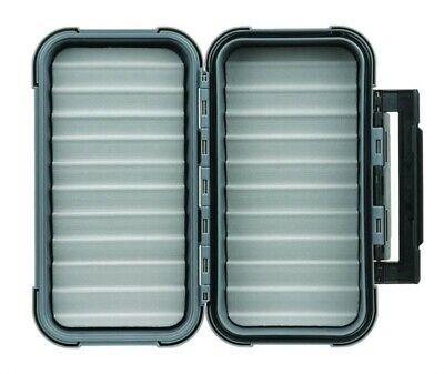 2  Fly fishing fly box Large Ripple Steamers//Nymphs//Dry flies Waterproof