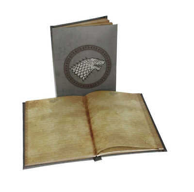 Game of Thrones Notebook with  Light Stark Toys Cancelleria