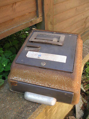 Vintage Cash Register/Till.rare German Mogler Cash Drawer.streamlined Deco Body.