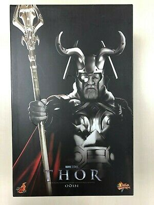 Hot Toys MMS 148 Thor Odin Anthony Hopkins 12 inch Action Figure NEW