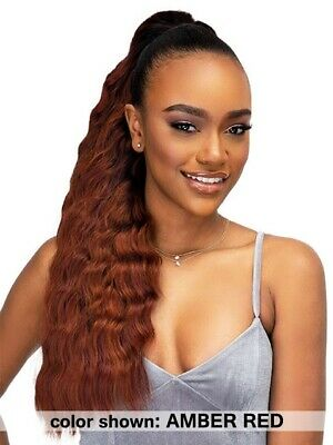 BANANA - Janet Collection Noir Every Time Drawstring - Heat Resistant Hair