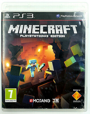 Minecraft - Game PLAYSTATION 3/PS3 - with Record - Version French